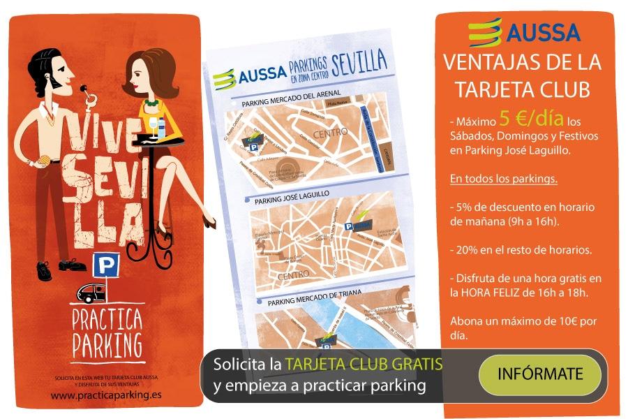Practica Parking con AUSSA | Tarjeta Club