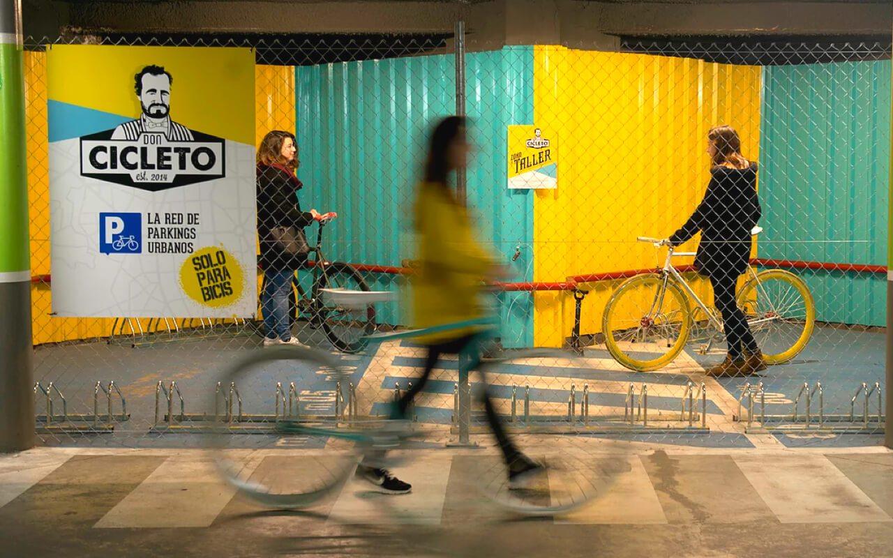 parking bicicleta