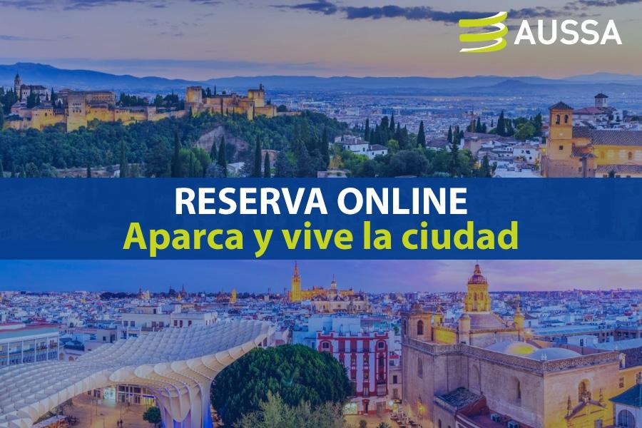 reserva parking online con AUSSA
