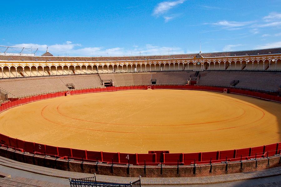 Plaza de toros feria de Sevilla 2019