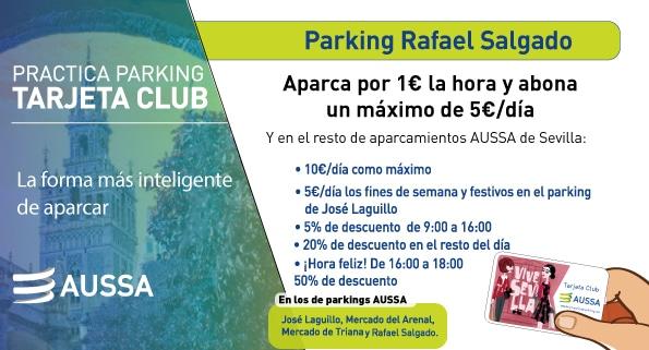 Tarjeta Club Parking Rafael Salgado